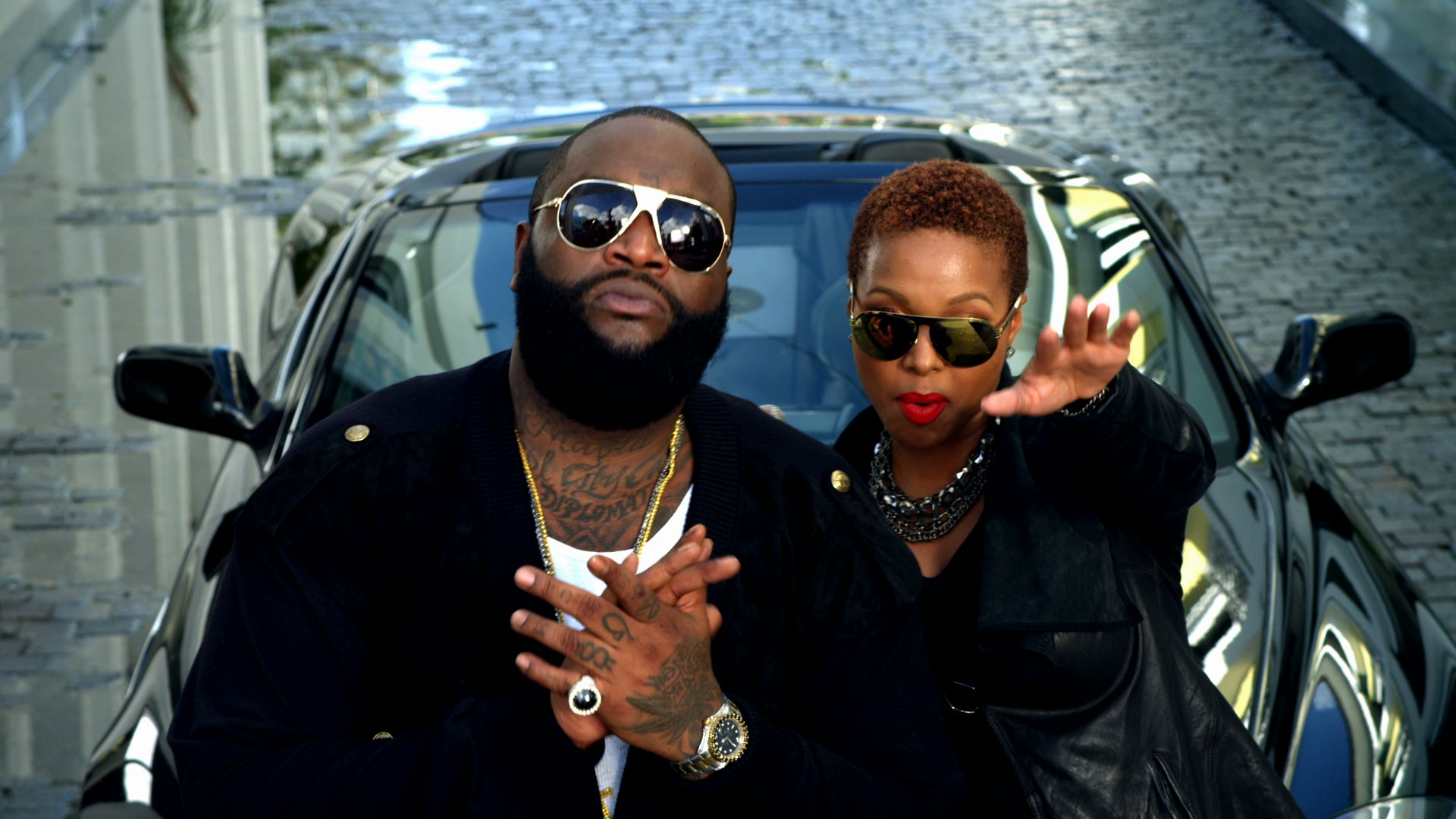 <h2>Rick Ross &#038; Drake</h2><h3>Aston Martin Music</h3>